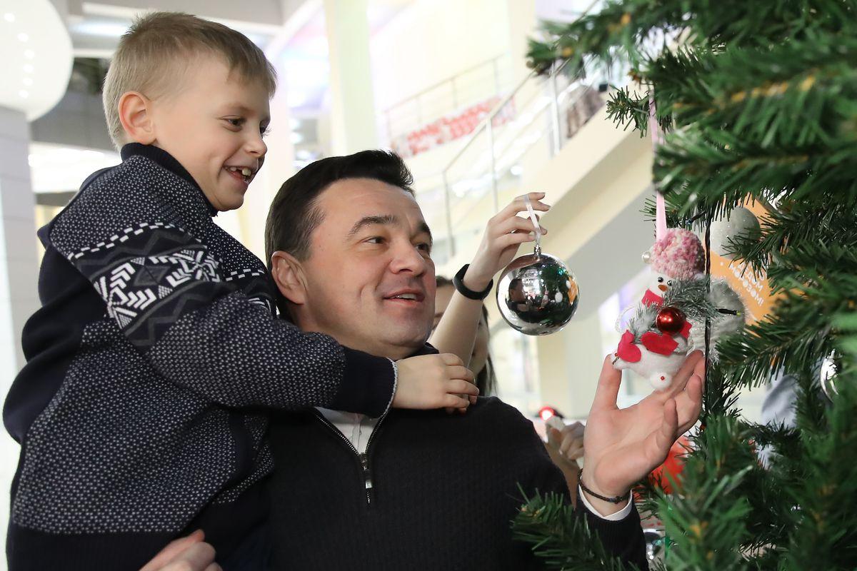 Андрей Воробьев губернатор московской области - Стать Дедом Морозом в Подмосковье: благотворительная акция стартовала в области