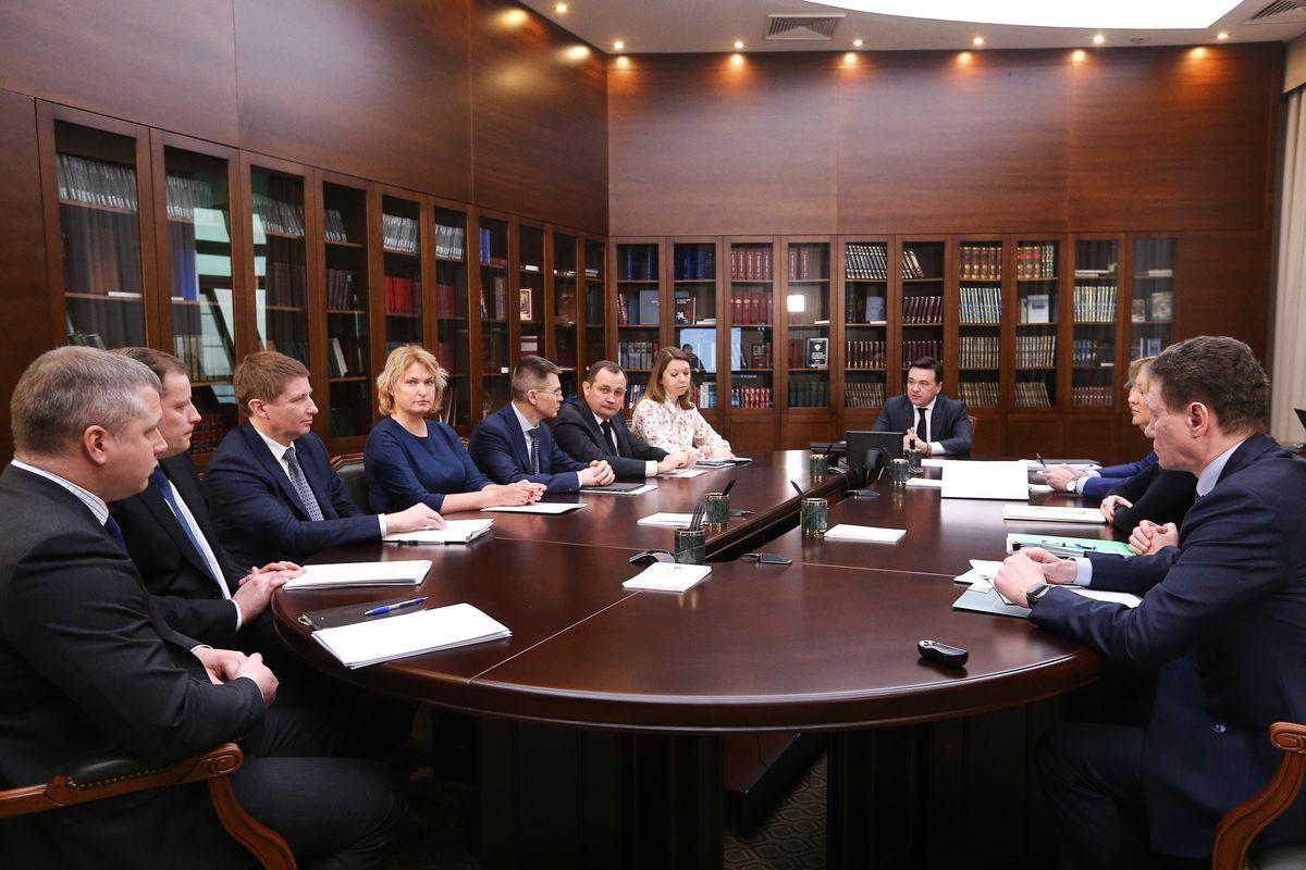 Андрей Воробьев губернатор московской области - Жители решают. До 1 апреля в Подмосковье избавятся от недобросовестных УК