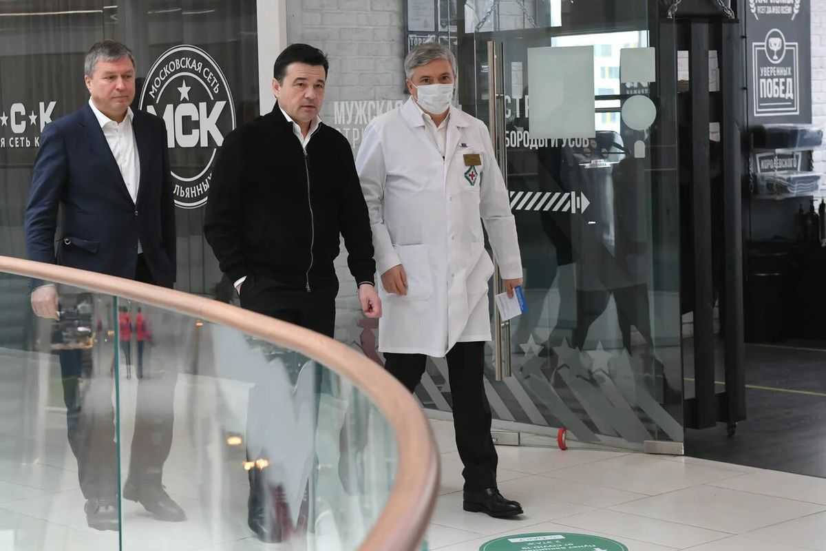 Андрей Воробьев губернатор московской области - За покупками и на вакцинацию: в Мытищах можно привиться от коронавируса в ТЦ