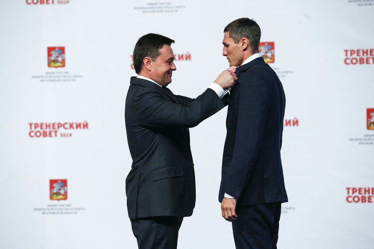 Андрей Воробьев губернатор московской области - Лучших спортсменов области наградили на первом тренерском совете
