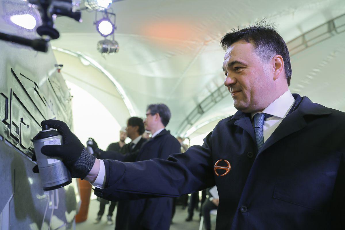 Андрей Воробьев губернатор московской области - Губернатор Андрей Воробьев дал старт строительству завода Hino Motors в Химках