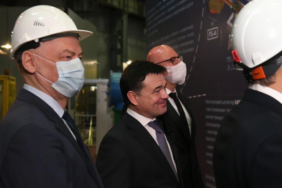 Андрей Воробьев губернатор московской области - Будущее — сегодня. В Дубне запустили бустер комплекса NICA