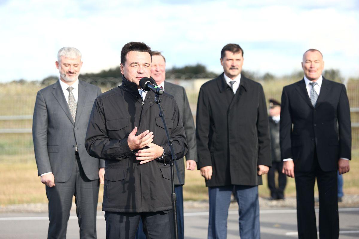 Андрей Воробьев губернатор московской области - Третью ВПП открыли в аэропорту Шереметьево