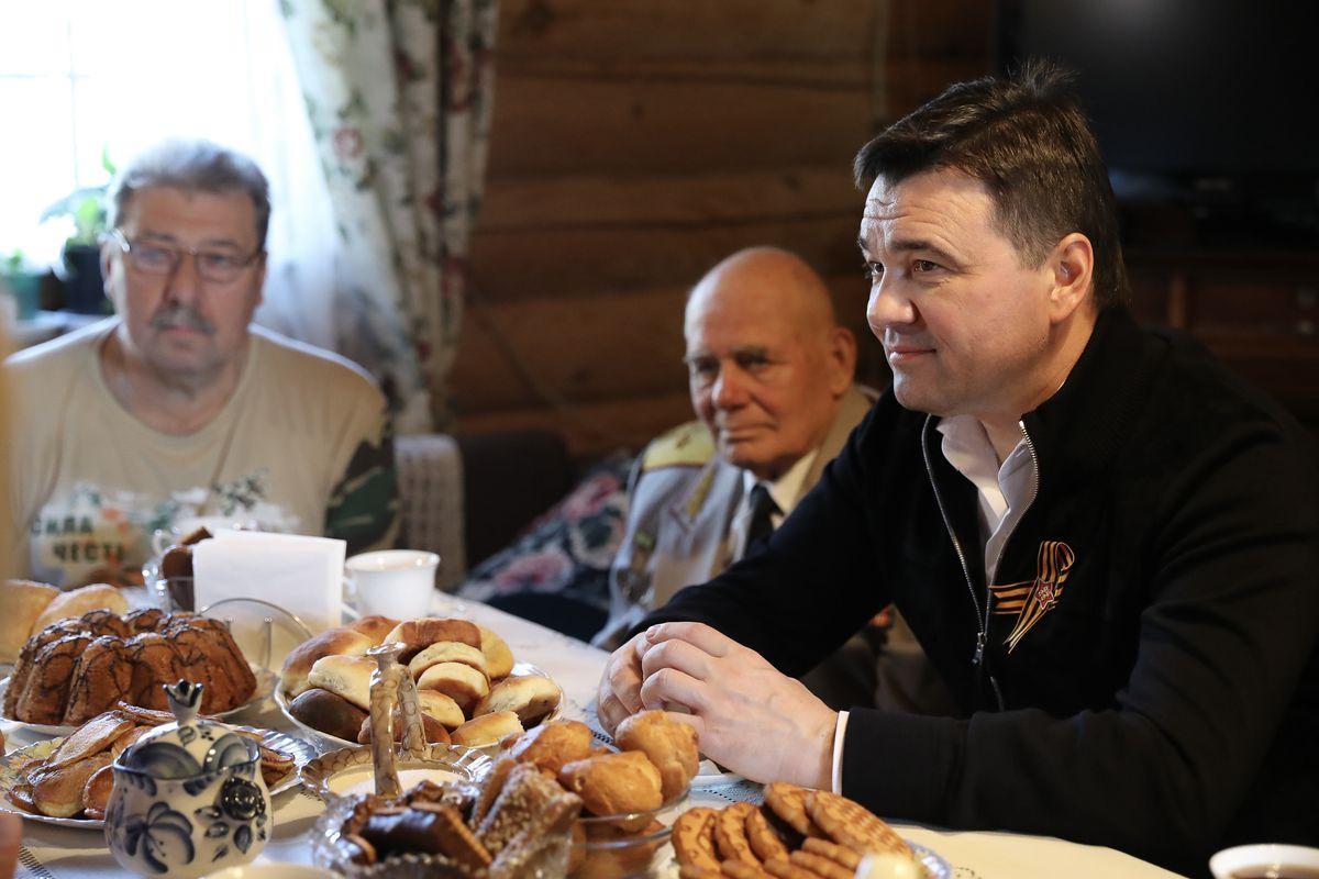 Андрей Воробьев губернатор московской области - Начало строительства музейного комплекса имени Зои Космодемьянской и встреча с ветеранами