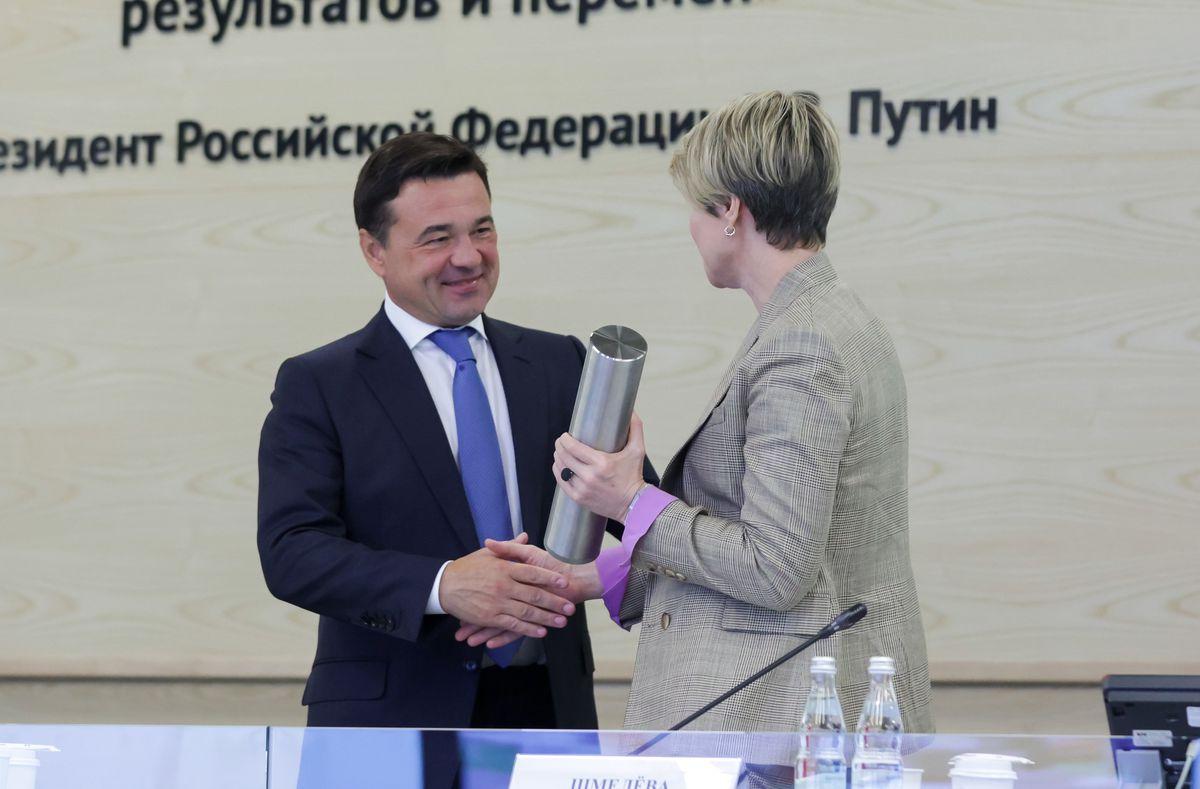 Андрей Воробьев губернатор московской области - Еще 25: в Подмосковье заложили фундамент под новые школы
