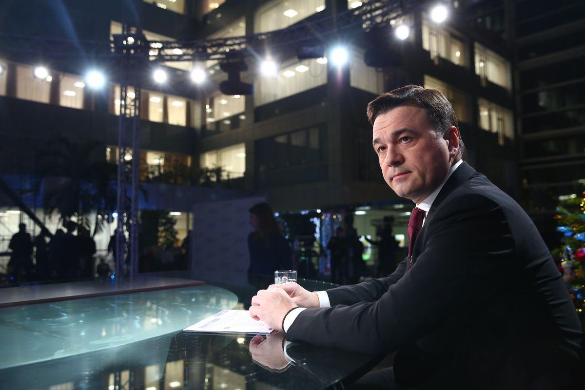 Андрей Воробьев губернатор московской области - Итоги года в эфире телеканала «360»