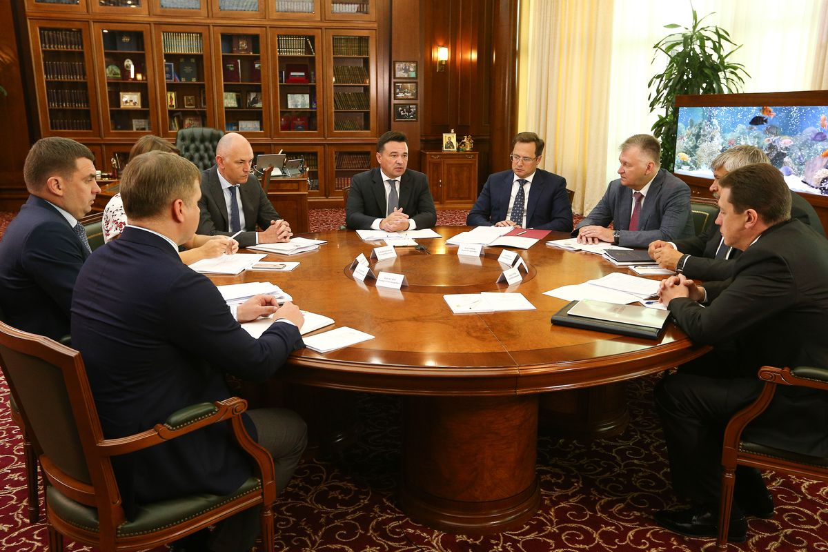 Андрей Воробьев губернатор московской области - Губернатор провел совещание по вопросам силового блока