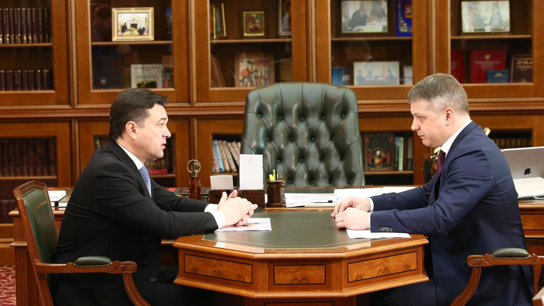 Губернатору Андрею Воробьев доложили о реализации системы «Безопасный регион» в Котельниках