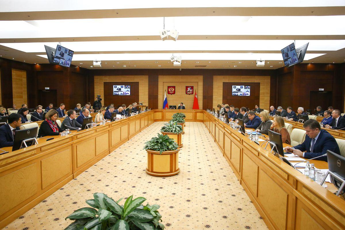 Андрей Воробьев губернатор московской области - Расширенное заседание правительства Московской области