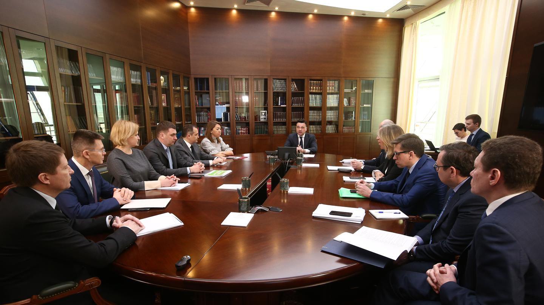 Совещание с руководящим составом правительства Московской области