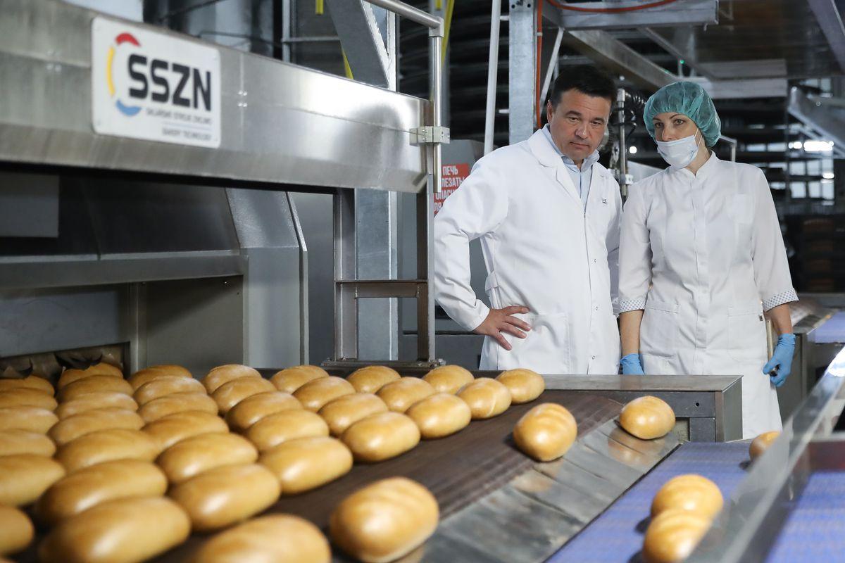 Андрей Воробьев губернатор московской области - «Дедовских хлеб» увеличил производство. Как устроена работа на заводе