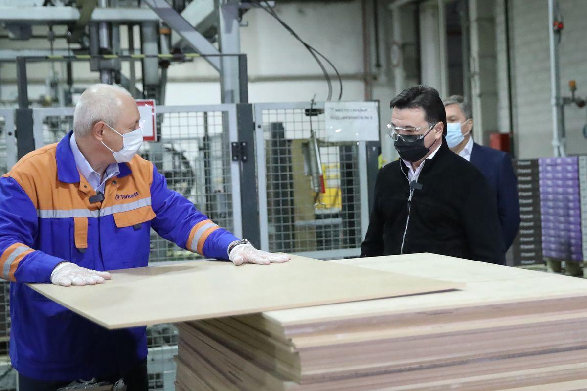 Андрей Воробьев губернатор московской области - С соблюдением условий. Стройки и промышленные предприятия могут заработать с 18 мая