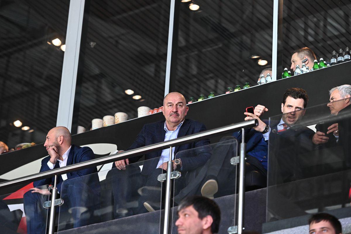 Андрей Воробьев губернатор московской области - Хоккейный матч на «Балашиха-Арене» между «Авангардом» и СКА