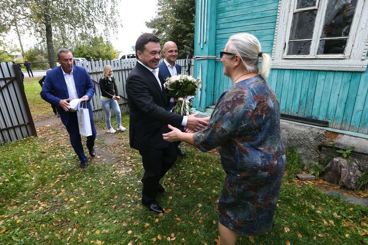 Андрей Воробьев губернатор московской области - Труженице тыла из подмосковного Можайска исполнилось 90 лет