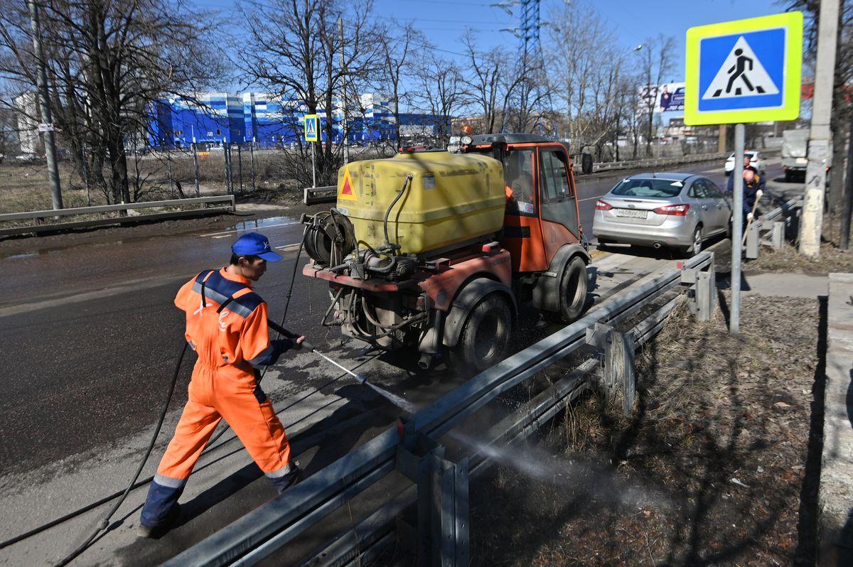 Андрей Воробьев губернатор московской области - Губернатор Московской области побывал на месте строительства новой дороги
