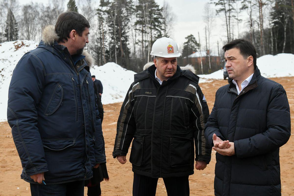 Андрей Воробьев губернатор московской области - Дедовск — без пробок. Новый путепровод запустят в городе в сентябре