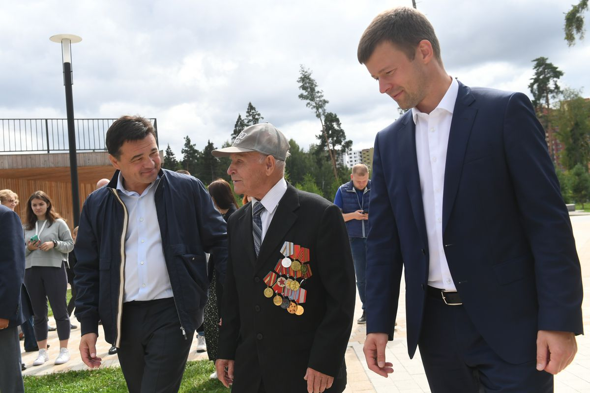 Андрей Воробьев губернатор московской области - Парки  — круглый год. Как работает благоустройстве на примере Балашихи