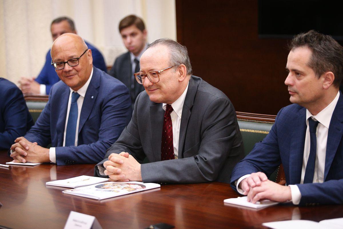 Андрей Воробьев губернатор московской области - Губернатор встретился с новым инвестором сырного кластера