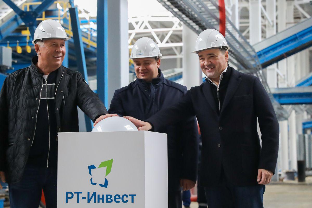 Андрей Воробьев губернатор московской области - Крупнейший в России комплекс по переработке отходов запущен в Подмосковье