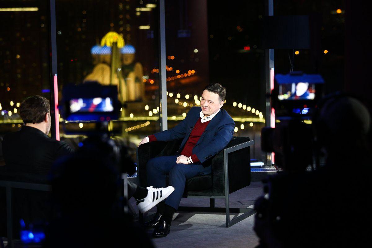Андрей Воробьев губернатор московской области - Интервью Сергею Минаеву