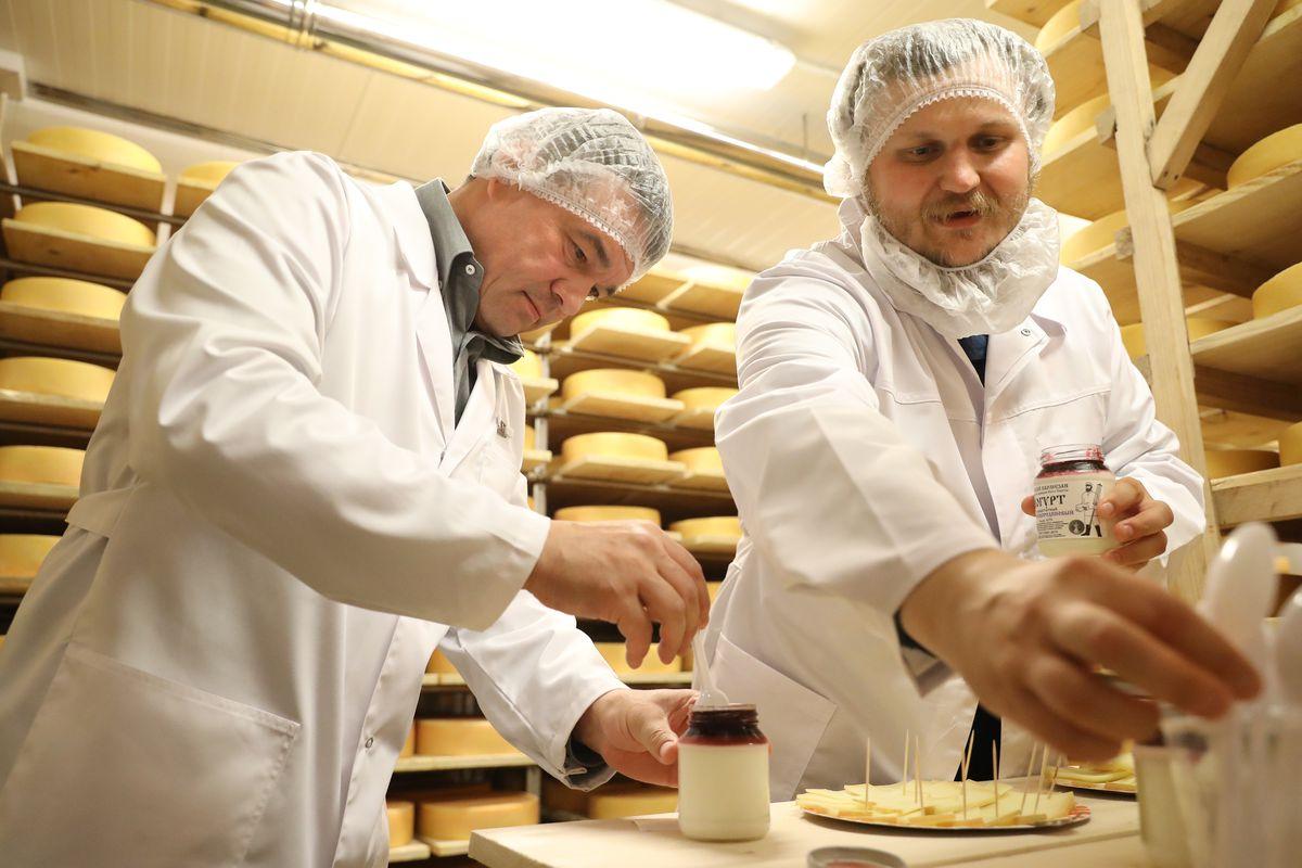 Андрей Воробьев губернатор московской области - Сыр с подмосковным вкусом: губернатор проверил подготовку к сырному фестивалю