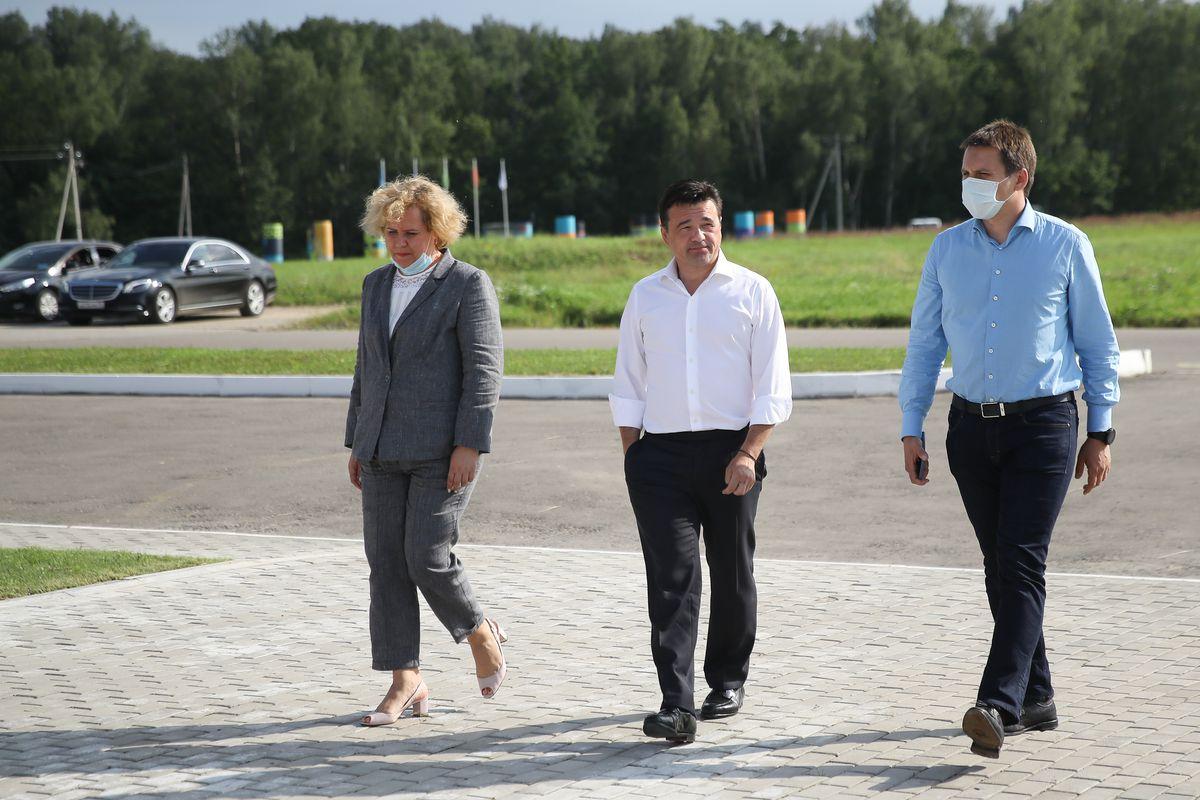 Андрей Воробьев губернатор московской области - Пищевая пленка по эко-стандартам. Предприятие в «Ступино Квадрат» дало 160 рабочих мест во время пандемии