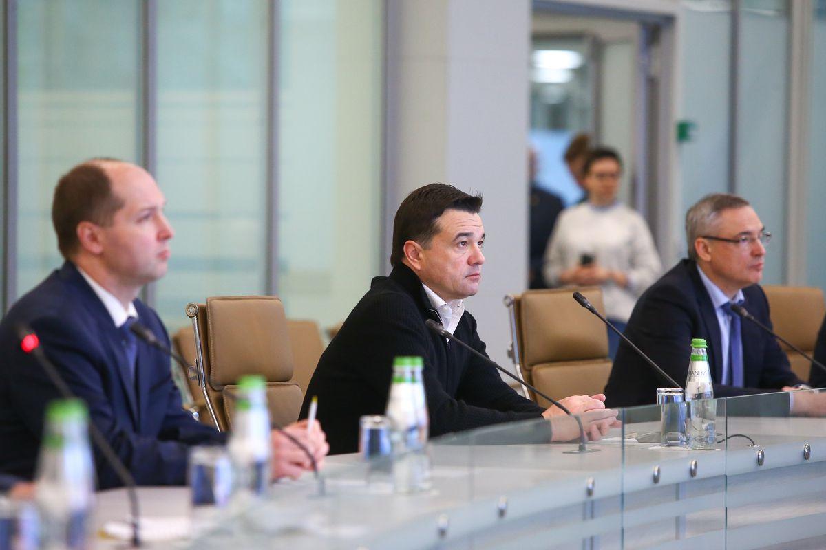 Андрей Воробьев губернатор московской области - Открытие Центра управления регионом в Подмосковье