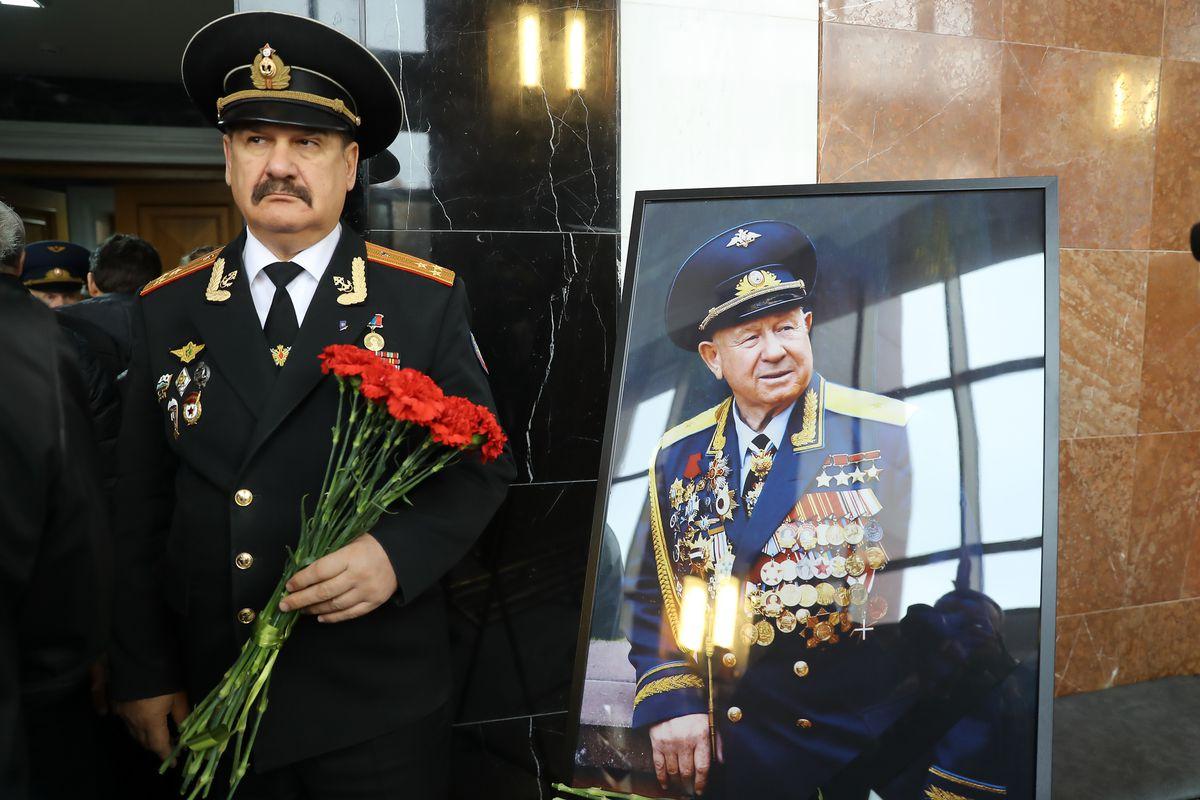 Андрей Воробьев губернатор московской области - В Подмосковье простились с космонавтом Алексеем Леоновым