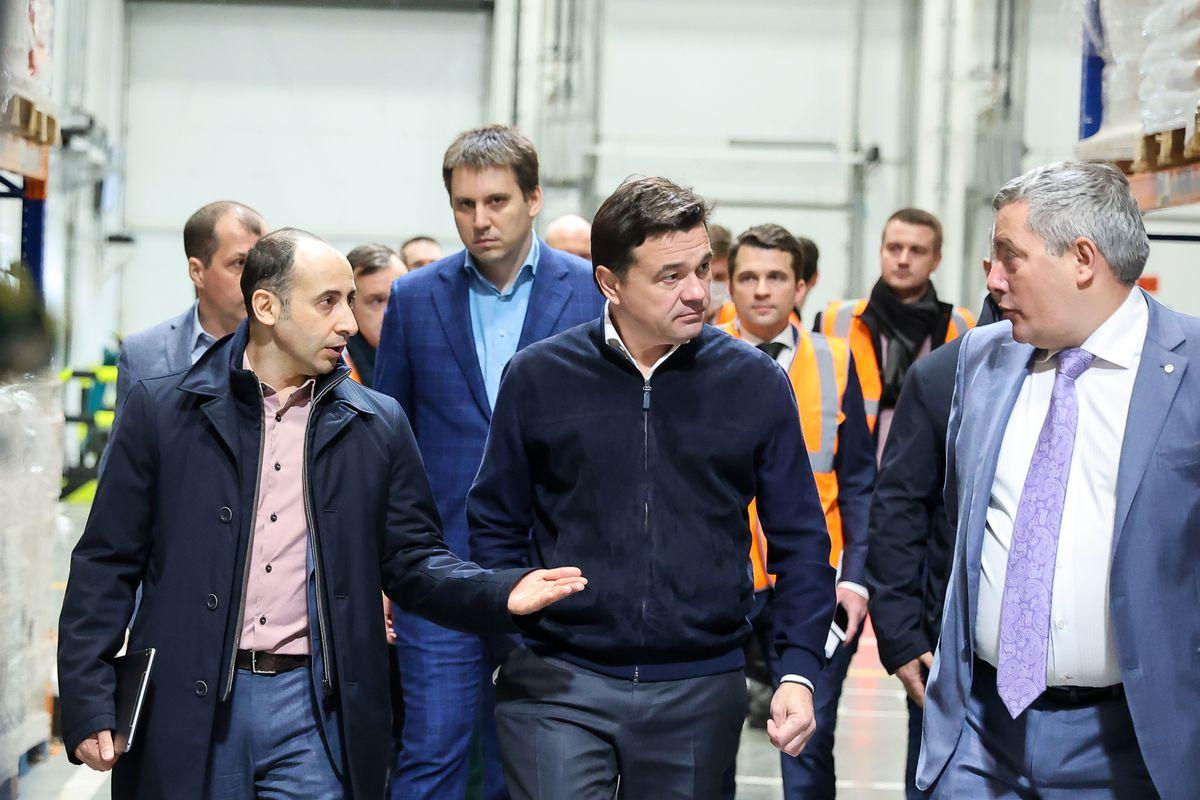 Андрей Воробьев губернатор московской области - Работать рядом с домом. Новый логистический центр открыли в Солнечногорске