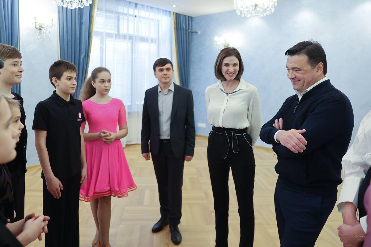 Андрей Воробьев губернатор московской области - Власиха по-новому: в округе продолжается благоустройство