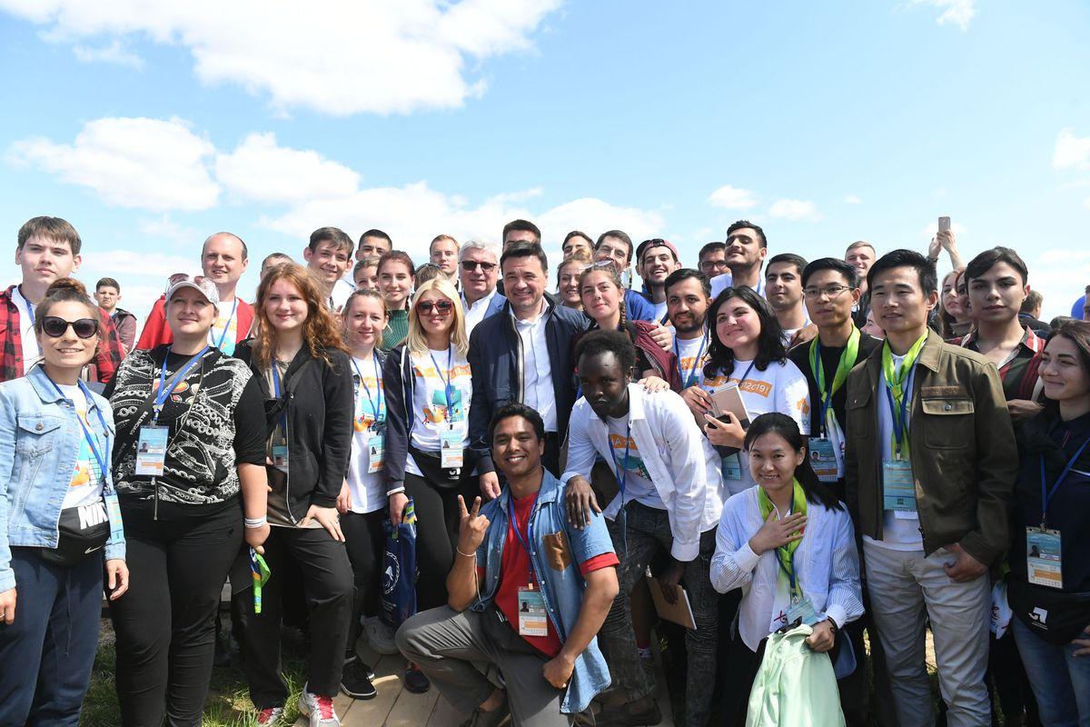 Андрей Воробьев губернатор московской области - «Я — гражданин Подмосковья» — форум, на котором молодежь строит свое будущее