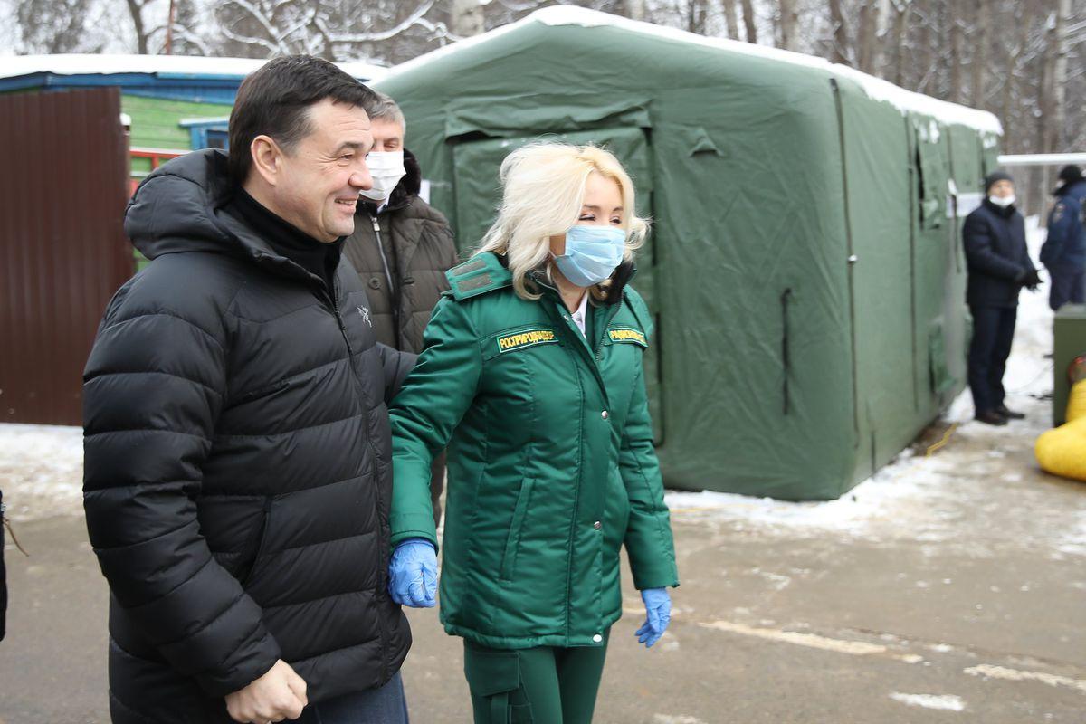Андрей Воробьев губернатор московской области - Полигон «Ядрово» закрыт. Следущий этап — рекультивация