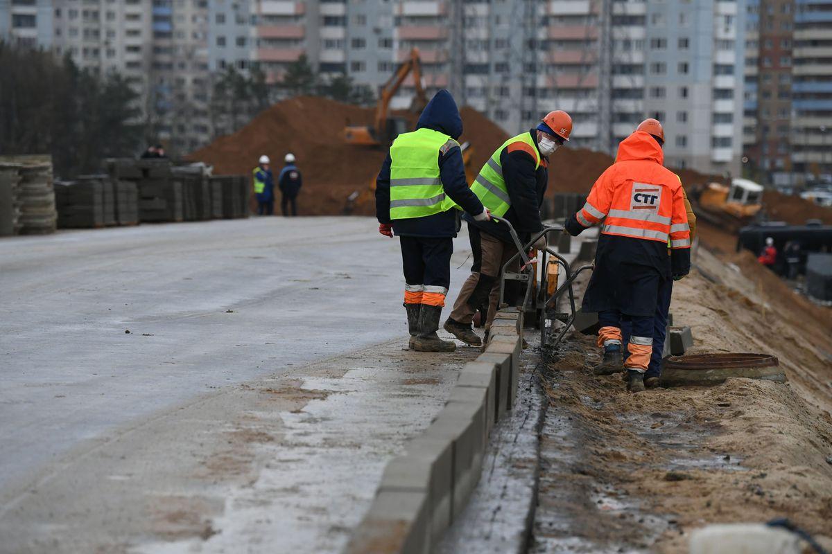 Андрей Воробьев губернатор московской области - Без пробок на Минском шоссе. Развязка на выезде из Трехгорки откроется до конца года