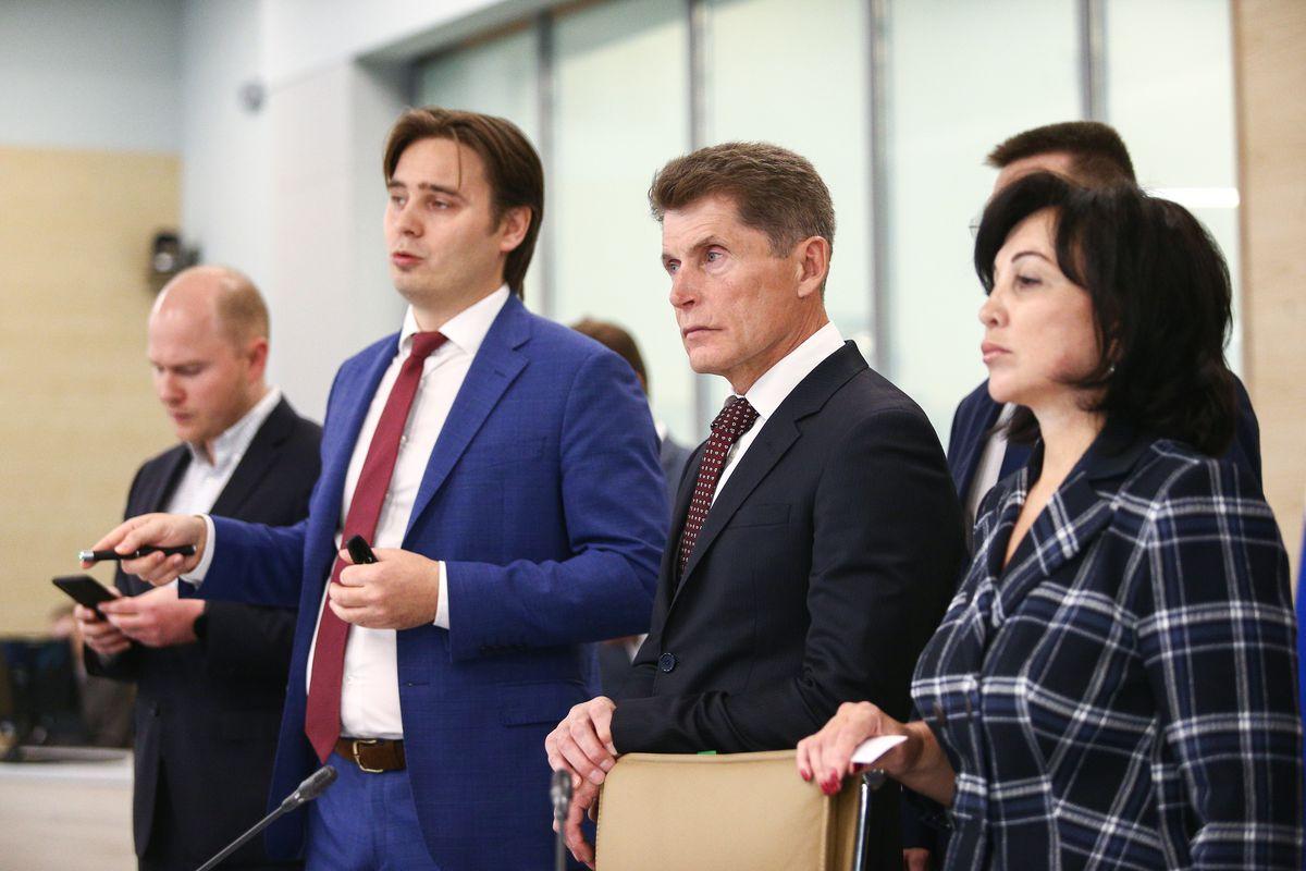 Андрей Воробьев губернатор московской области - ЦУР представили губернатору Приморского края
