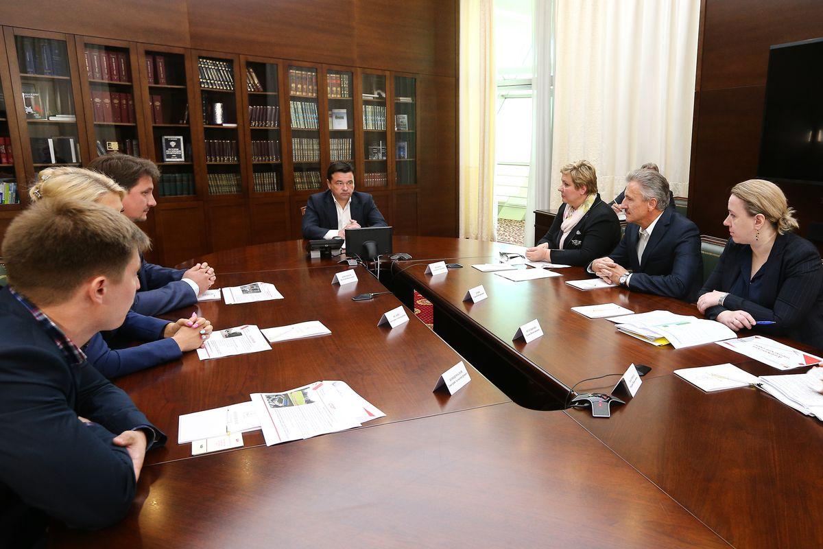 Андрей Воробьев губернатор московской области - Дзержинский: перспективы развития и благоустройства