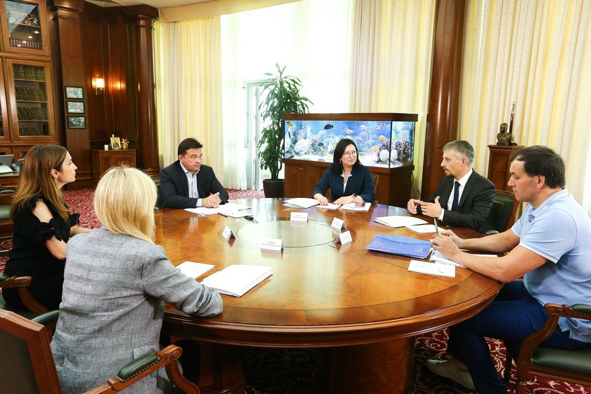 Андрей Воробьев губернатор московской области - Губернатор встретился с участниками конкурса «Лидеры России»