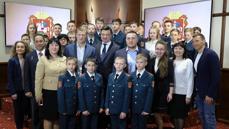 Встреча с кадетами из Вологодской области