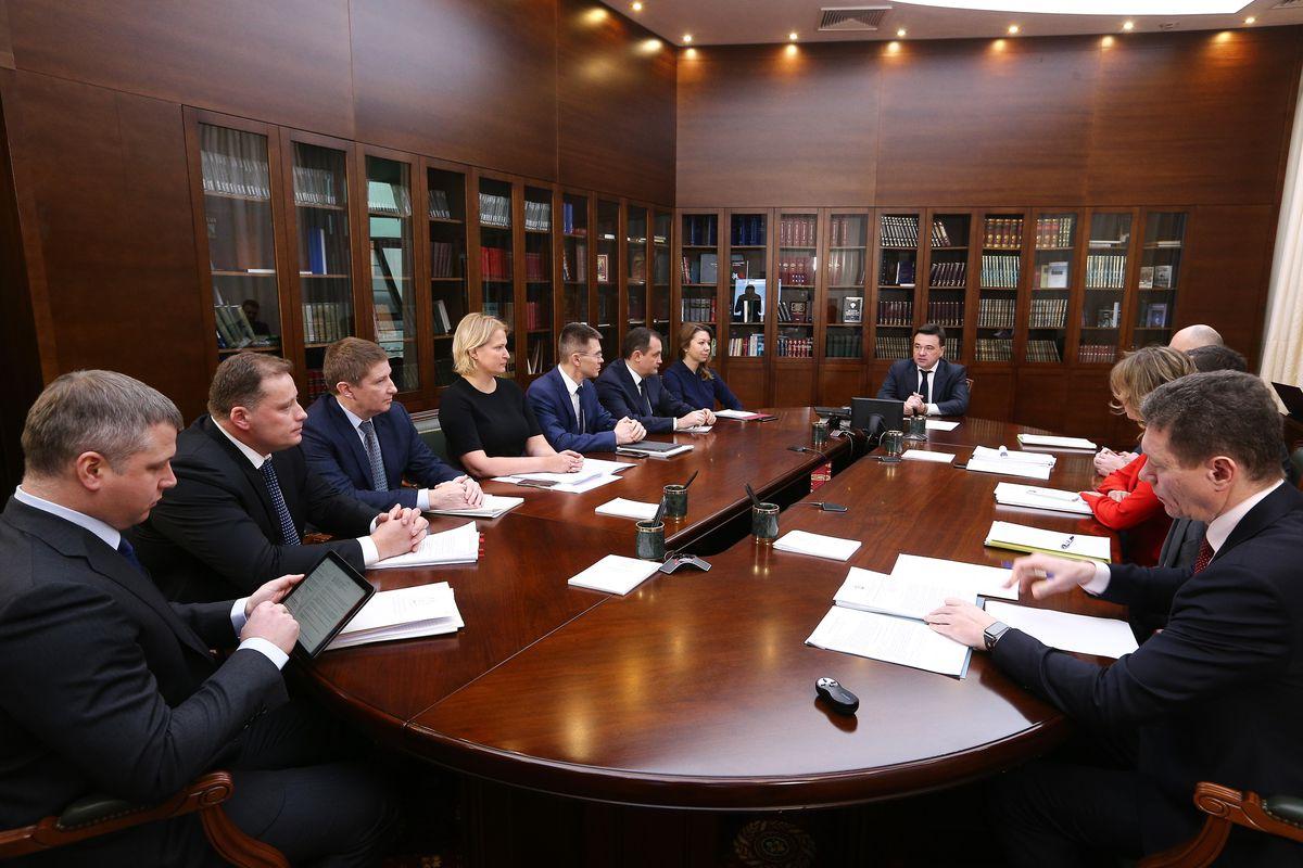 Андрей Воробьев губернатор московской области - «Воловичи» — все. «Непейно» — приготовиться. Что обсудили на совещании с зампредами