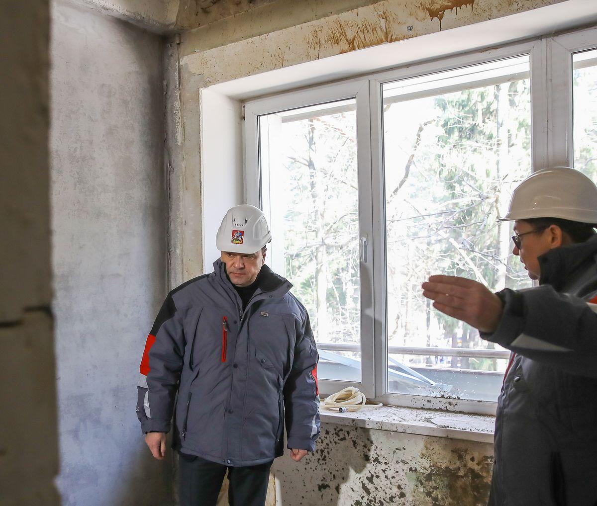 Андрей Воробьев губернатор московской области - Нарастить мощности в короткий срок. Как в области борются с коронавирусом