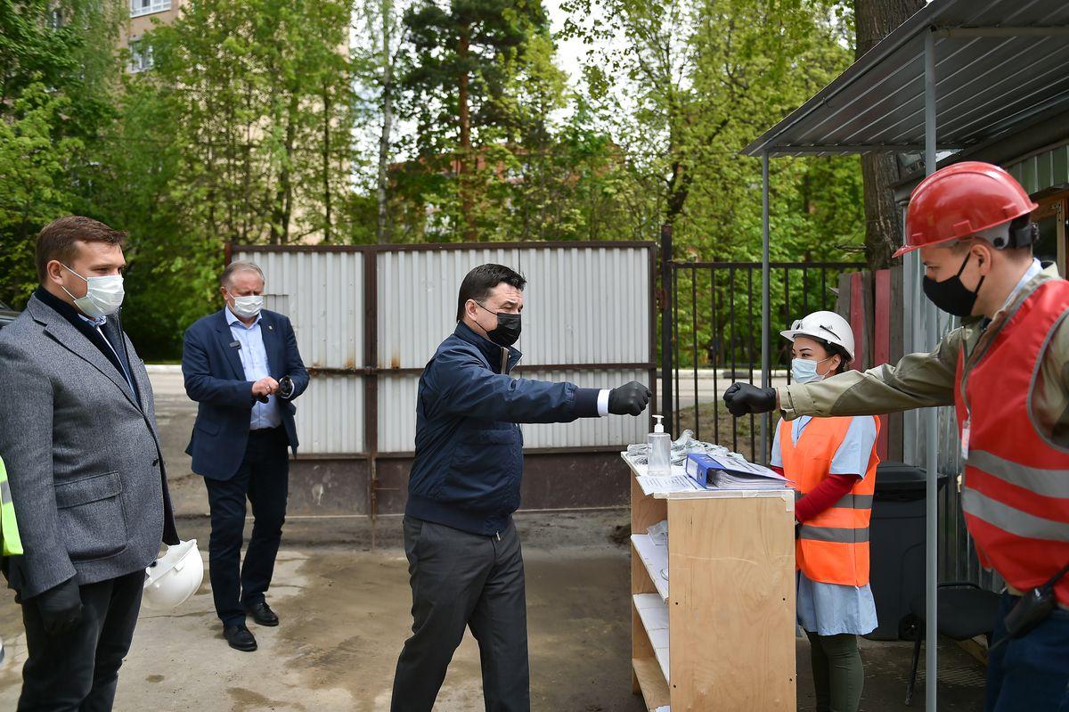 Андрей Воробьев губернатор московской области - Дом, где живет музыка. Заново отстроенный колледж в Пушкино готовится к открытию