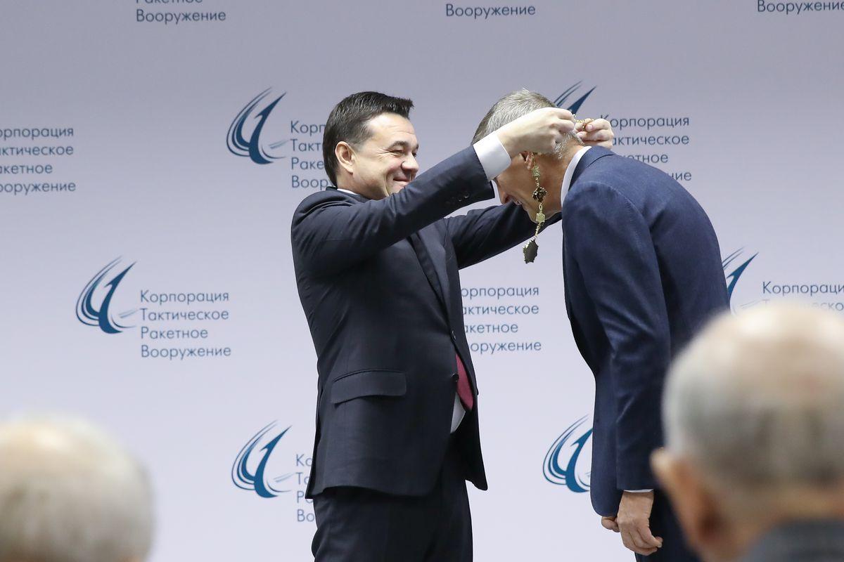 Андрей Воробьев губернатор московской области - На страже Родины: знаменитый ученый стал почетным гражданином области