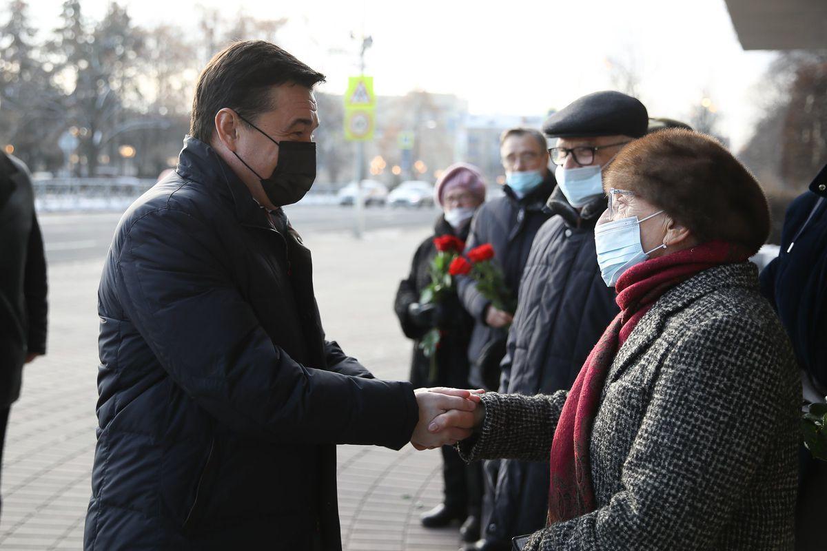 Андрей Воробьев губернатор московской области - В память о человеке. В Мытищах открыли мемориальную доску ветерану и бывшему руководителю Подмосковья