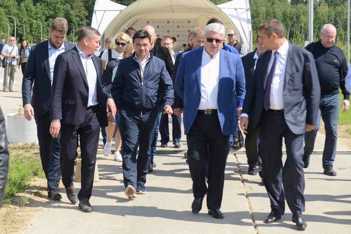 Андрей Воробьев губернатор московской области - Новый агрохолдинг появился в Подмосковье