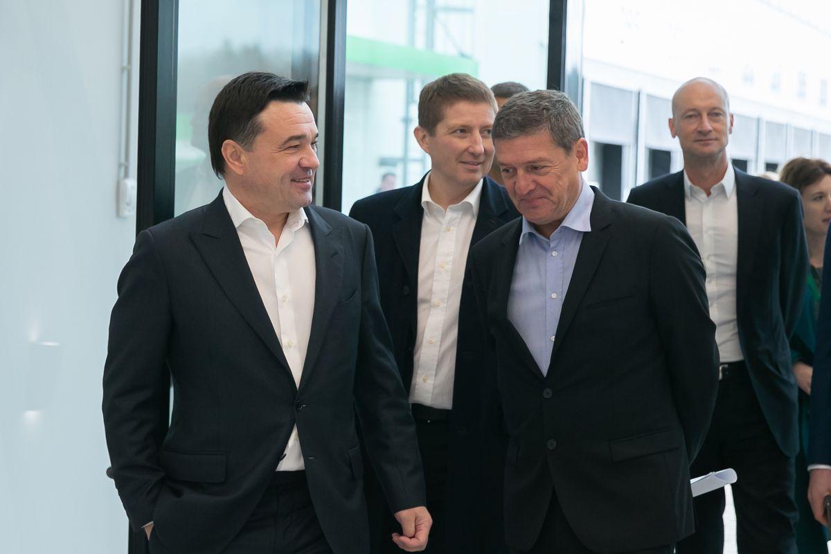 Андрей Воробьев губернатор московской области - 23 октября в Дмитрове откроется крупнейший распределительный центр «Леруа Мерлен»