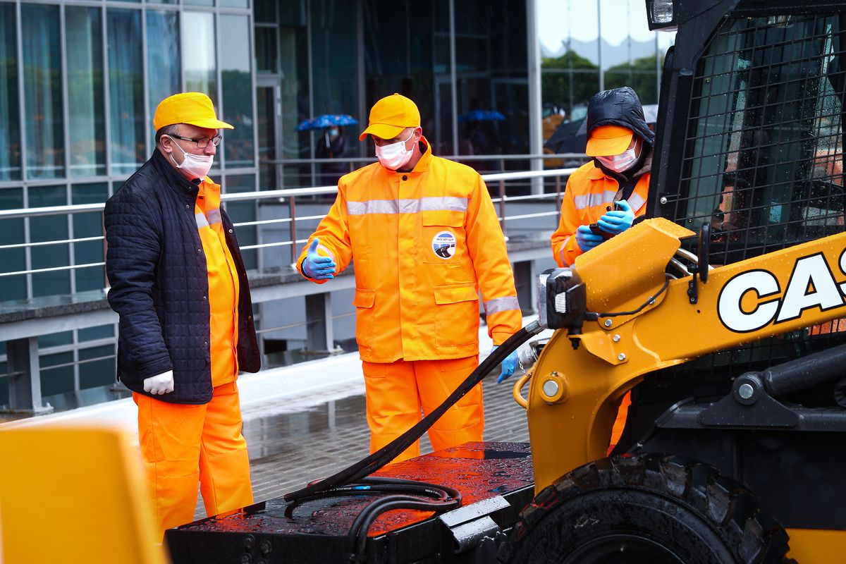 Андрей Воробьев губернатор московской области - Быстро, чисто, современно: подмосковный Мосавтодор приобрел 40 машин для очистки дорог