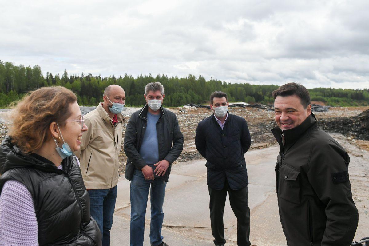 Андрей Воробьев губернатор московской области - В Подмосковье к концу года не останется свалок