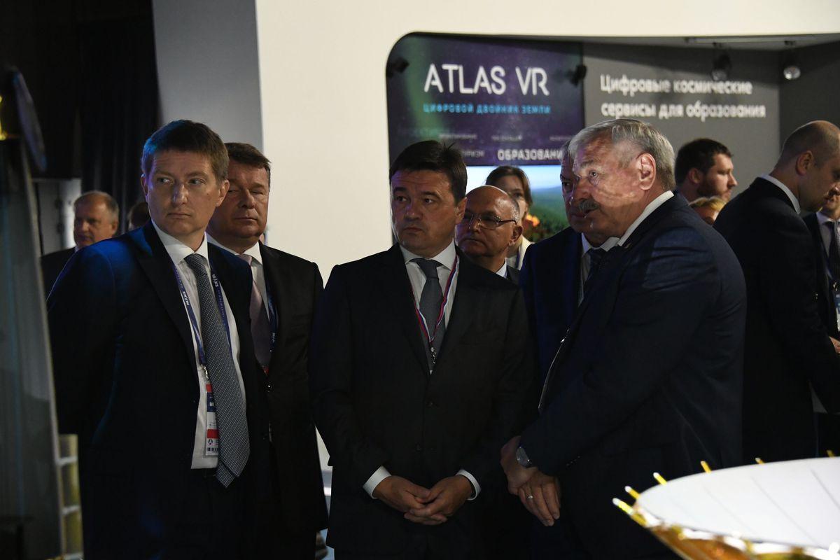 Андрей Воробьев губернатор московской области - Авиасалон «МАКС» открылся  в Жуковском