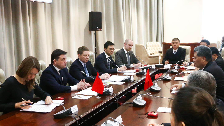 Встреча с делегацией из китайской провинции Гуандун
