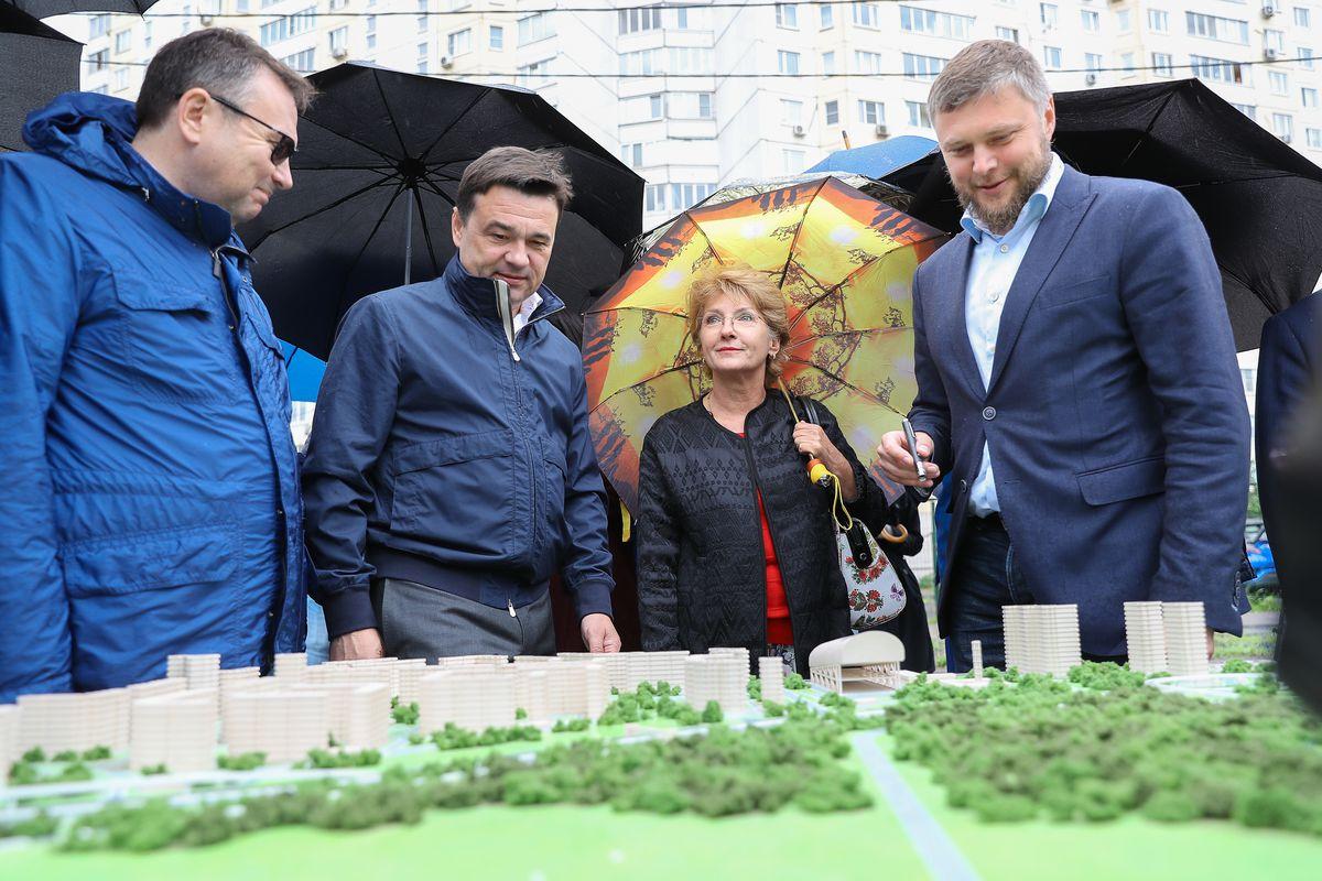 Андрей Воробьев губернатор московской области - Губернатор рассказал, как развязка в Красногорске помогла в борьбе с пробками
