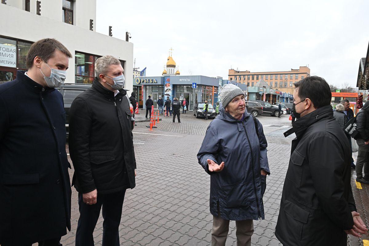 Андрей Воробьев губернатор московской области - Скидки в магазинах, на рынках и в мобильном приложении. Как помогают пенсионерам в пандемию
